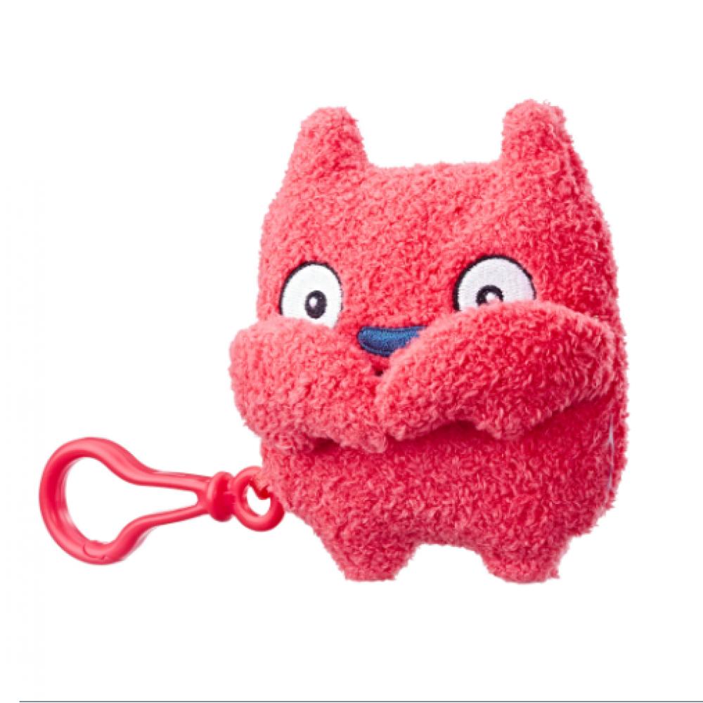 Плюшевая игрушка 12 см Лаки Бат UglyDolls Lucky Bat c клипсой Куклы с Характером E4534