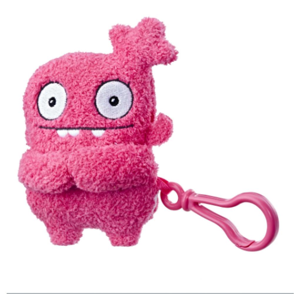 Плюшевая игрушка Мокси UglyDolls Moxy c клипсой 12 см Куклы с Характером Hasbro E4528