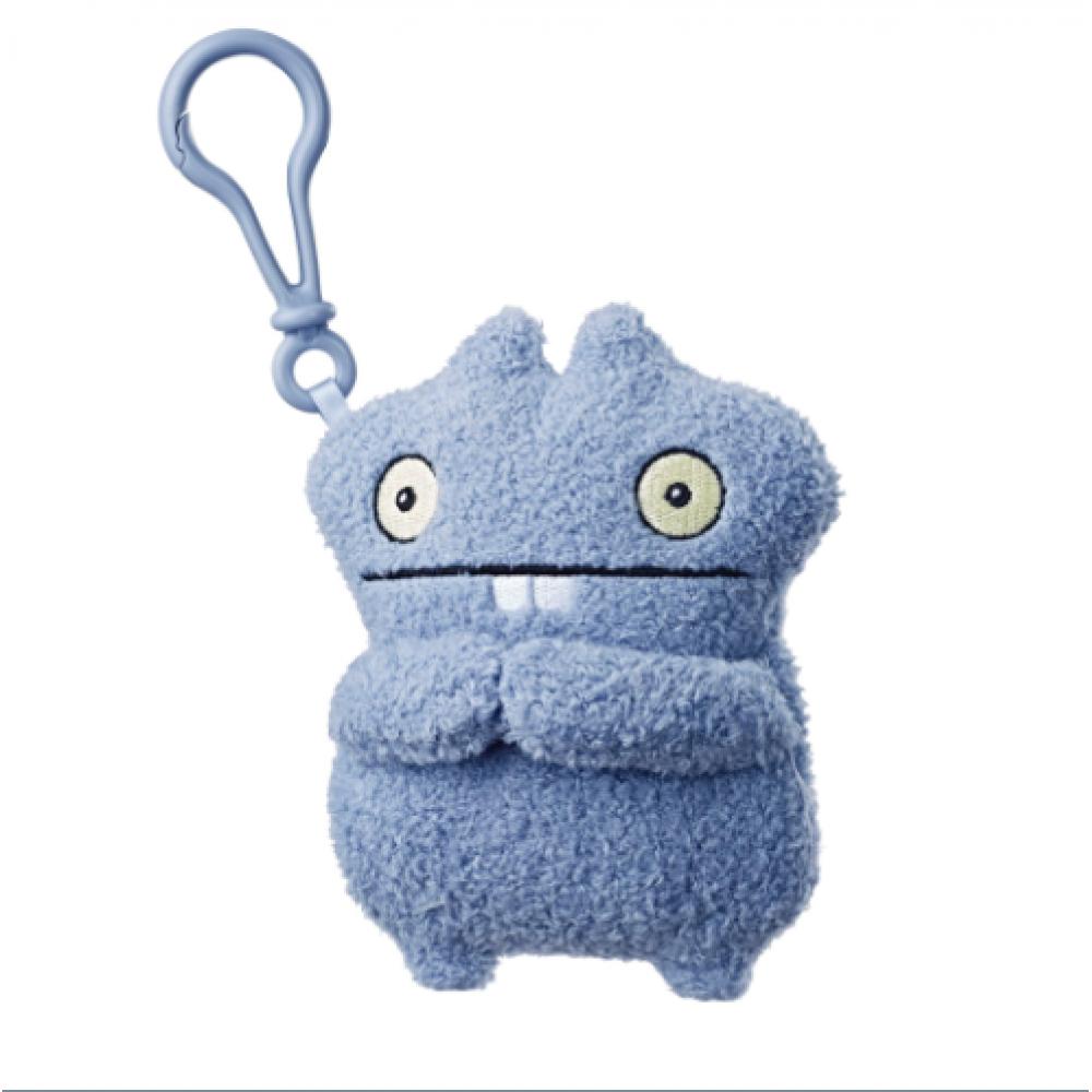 Плюшевая игрушка Бабо 12 см UglyDolls Babo c клипсой Куклы с Характером HasbroE4529