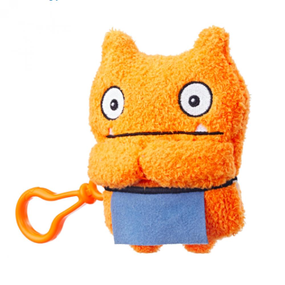 Плюшевая игрушка 12 см Вэйдж UglyDolls Wage c клипсой Куклы с Характером Hasbro E4530