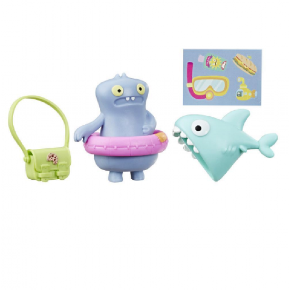 Игрушка Бабо с аксессуарами, UglyDolls Surprise Disguise Beach Bum Babo Toy and Accessories E4547