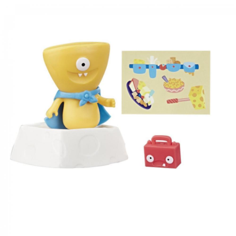 Игрушка Wedgehead с аксессуарами, UglyDolls Surprise Disguise Super Wedgehead Toy and Accessories E4549