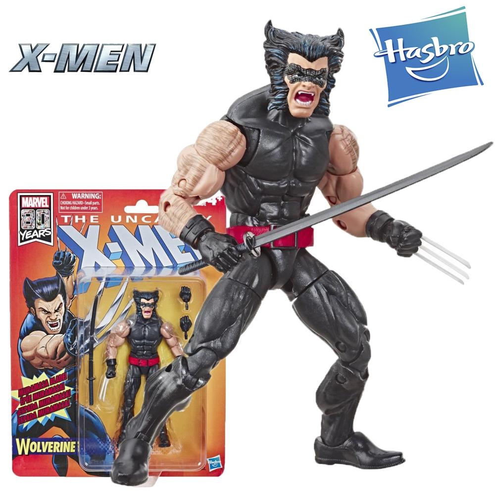 Фигурка Росомаха 15 см Люди Икс Hasbro Marvel Retro Collection Wolverine E6108