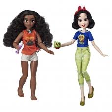Набор Кукол Моана и Белоснежка Принцессы Диснея Moana and Snow White Hasbro E7420