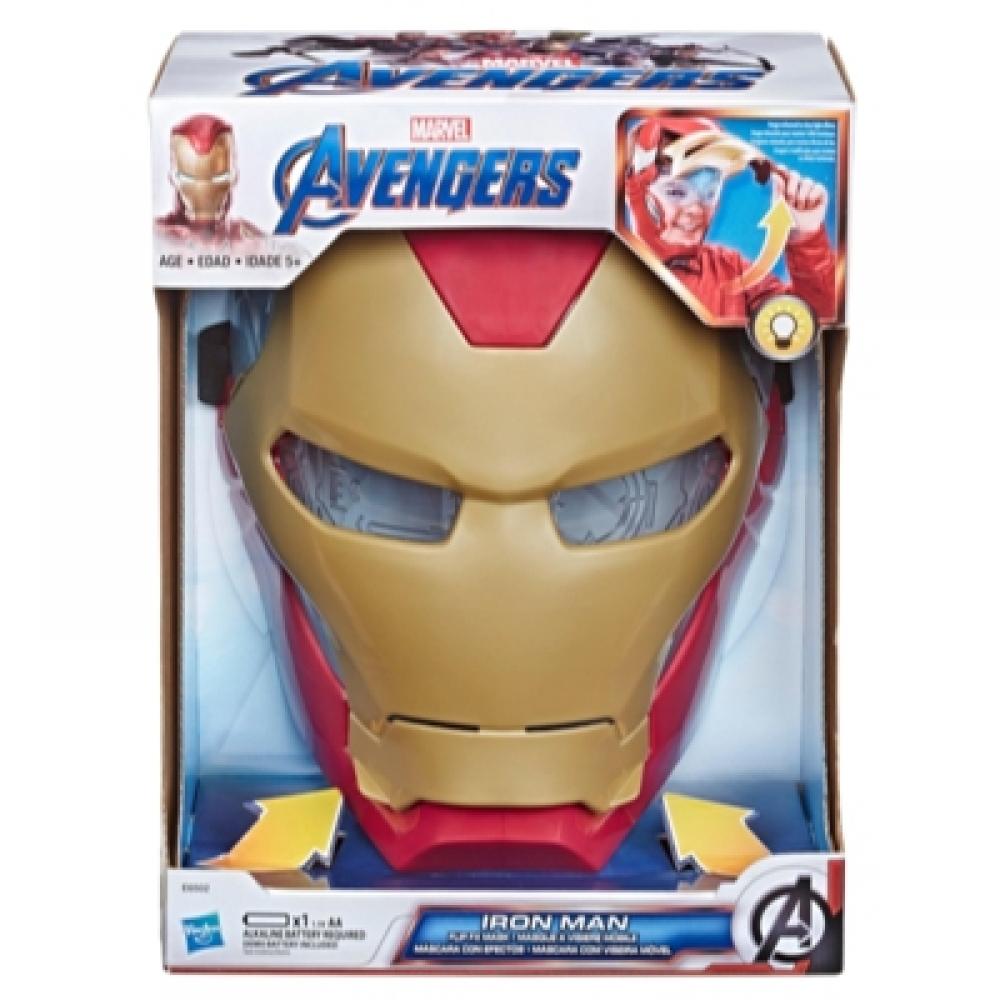 Маска Железный Человек с открывающимся лицом Iron Man Mask Hasbro E6502