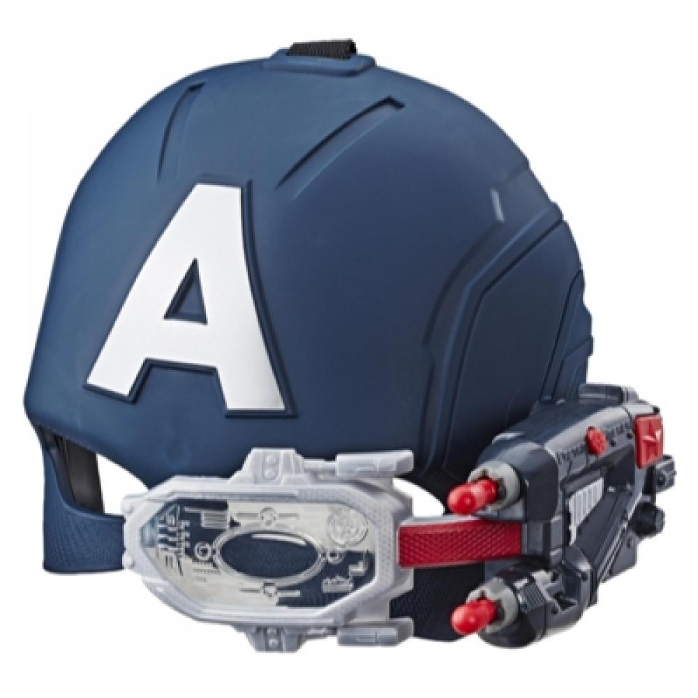 Маска Капитан Америка с светящимся прицелом Captain Americ Hasbro E6507