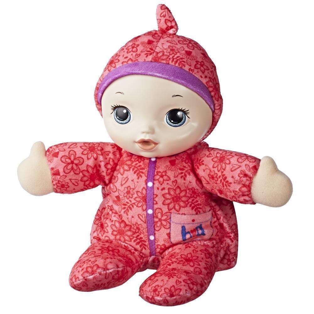 Мягкая Кукла Сумочка Baby Alive Love My Blankie Baby Hasbro E1088