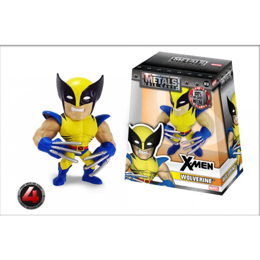Фигурка металлическая Люди Икс: Росомаха Wolverine (M138) Jada Toys 97902