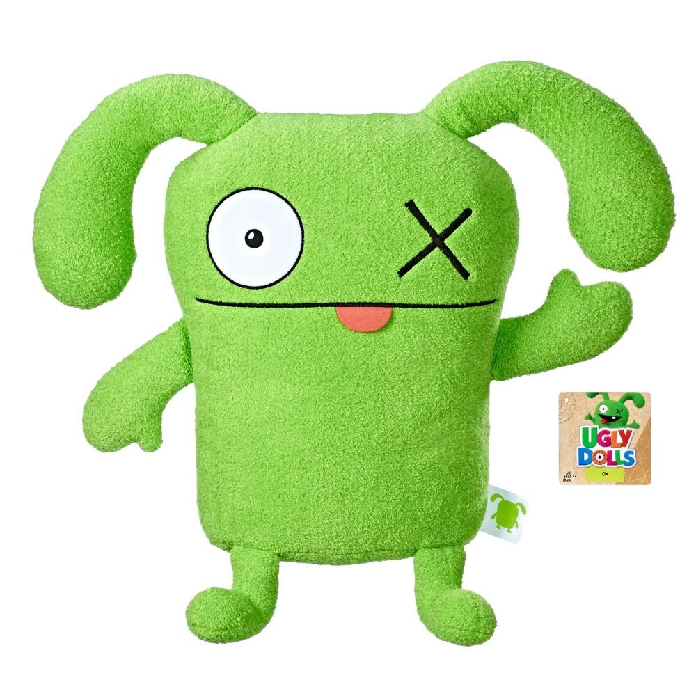 """Большая Плюшевая игрушка 50 см Окс """"Куклы с характером"""" UglyDolls OX Hasbro E4675"""
