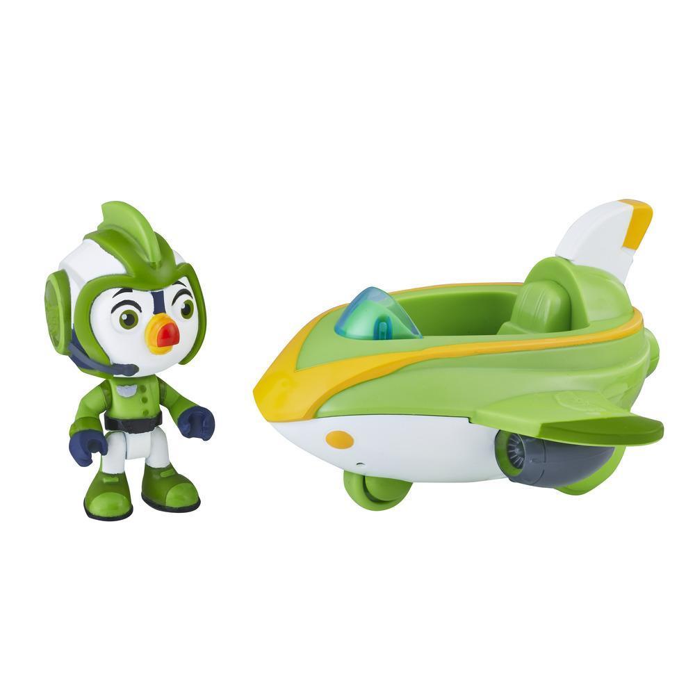 Игровой Набор Броуди и Турбо Катер Крылатый Патруль Top Wing Brody figure and vehicle Hasbro E5316