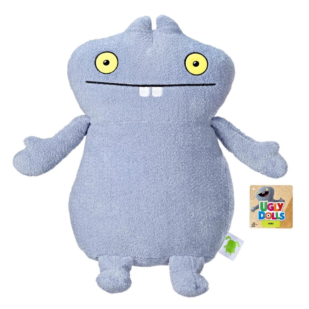 Плюшевая игрушка большая Бабо 46 см куклы с характером UglyDolls BaboHasbro E4676