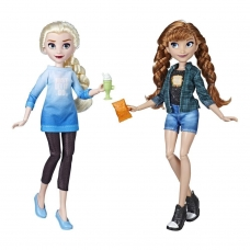 Принцессы Диснея Куклы Эльза и Анна Disney Princess Ralph Breaks the Internet Movie Dolls, Elsa and Anna Hasbro E7417
