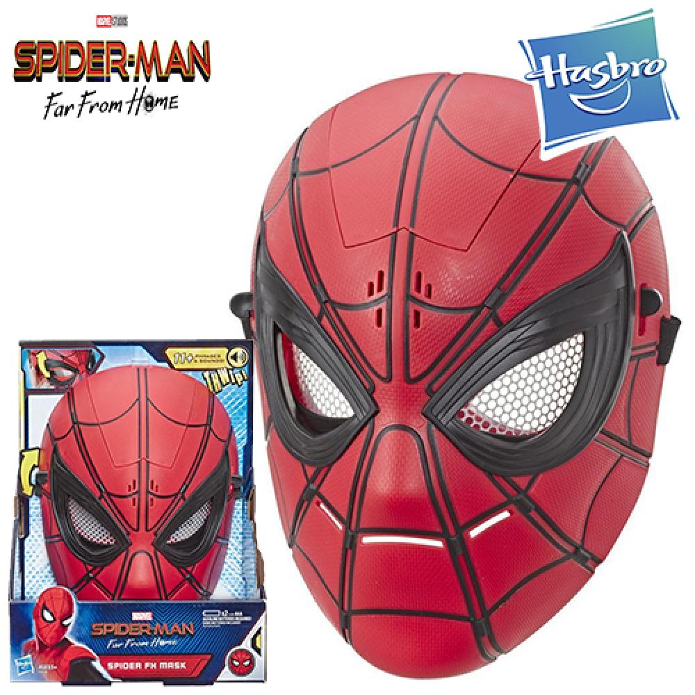 Маска Человек Паук c звуковыми эффектами Hasbro Marvel Spider-Man E6506