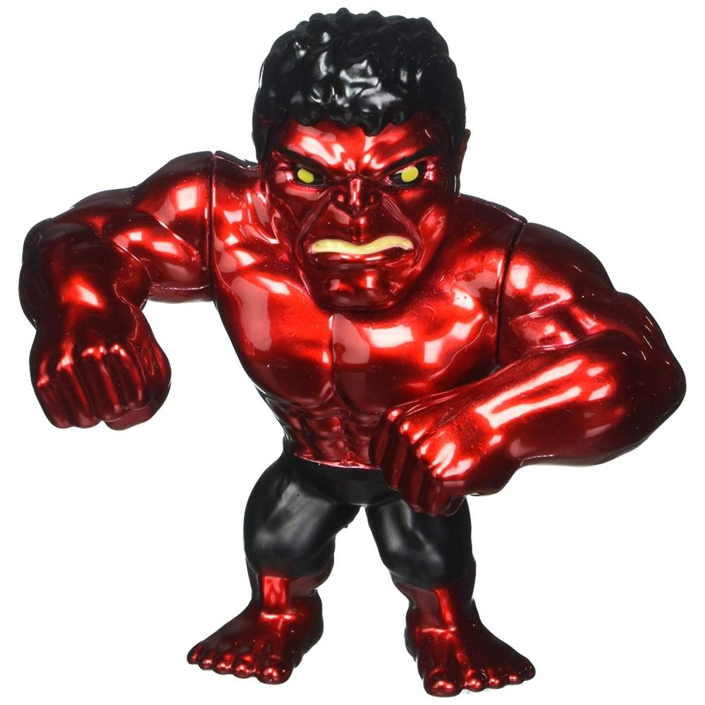 Статуэтка Красный Халк Металлическая Hulk Red Jada Toys M321