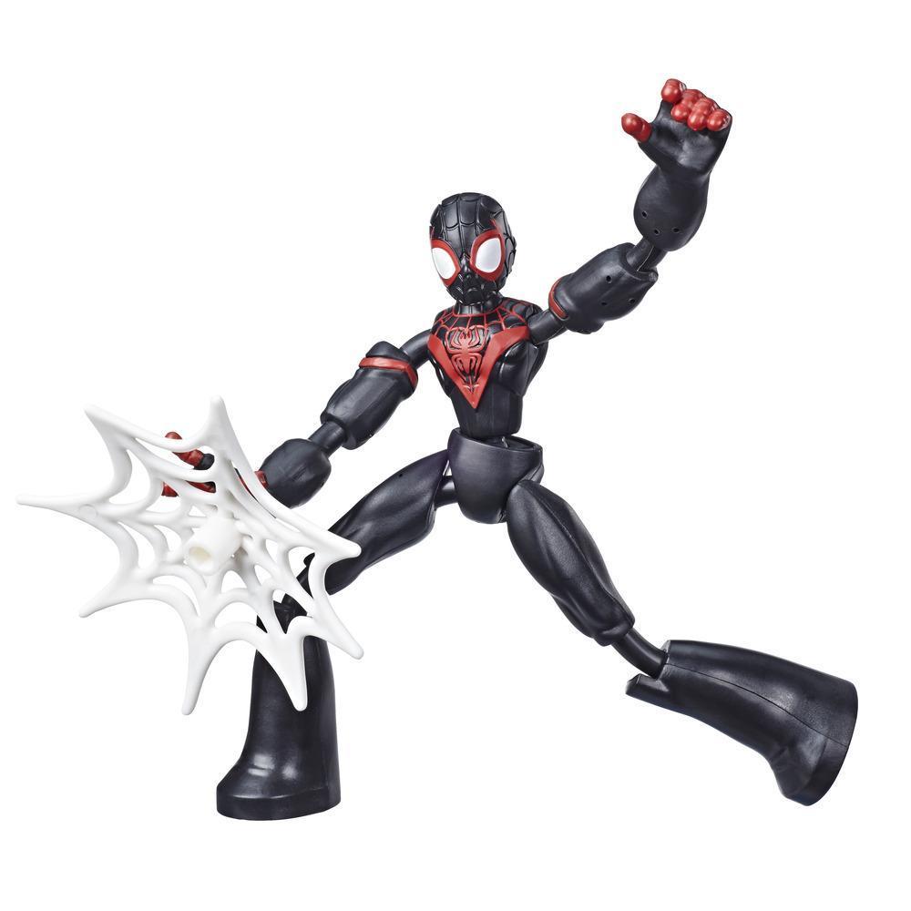 Фигурка Человек Паук Маилз Гнущийся Bend And Flex Spider-Man Miles Morales Hasbro E7870