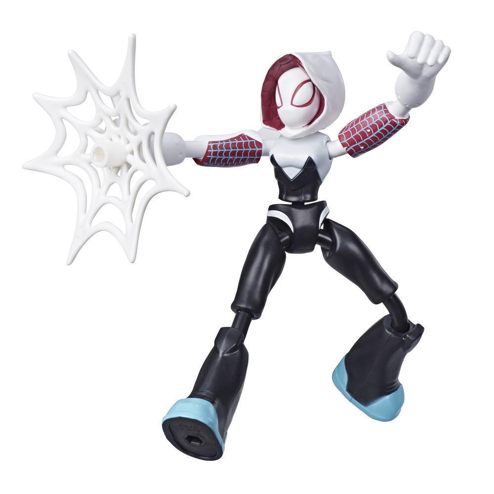 Фигурка Гвен Призрачный Паук Гнущаяся Bend and Flex Ghost-Spider Hasbro E7688