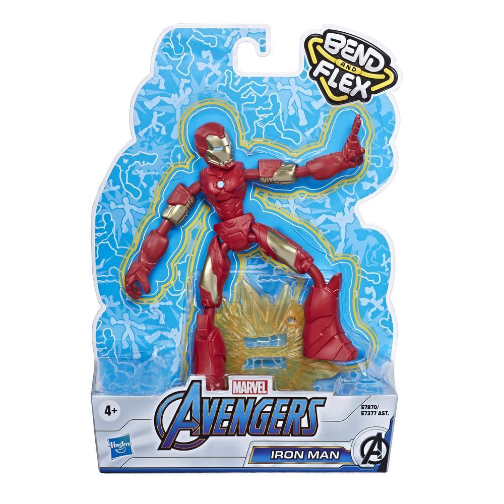 Фигурка Железный Человек Гнущийся Bend And Flex Iron Man Hasbro E7870