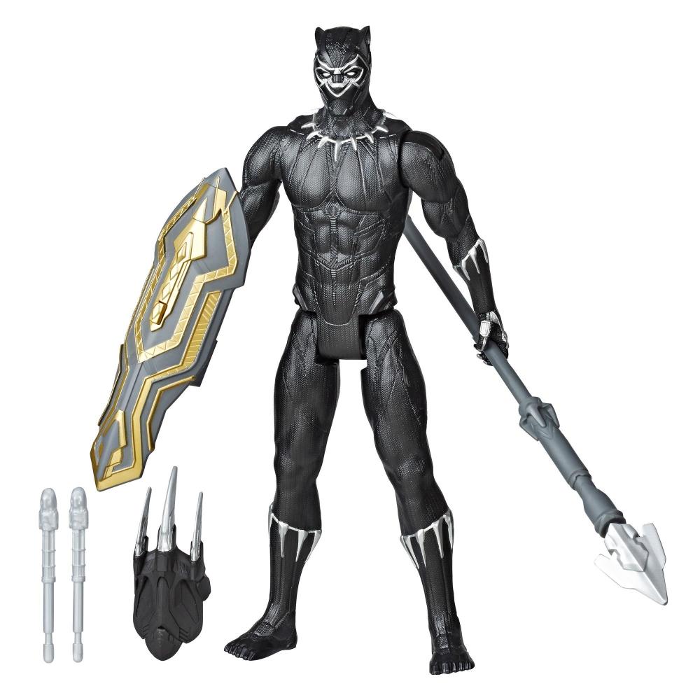 Фигурка Черная Пантера с аксессуарами оружия Black Panther Hasbro E7388