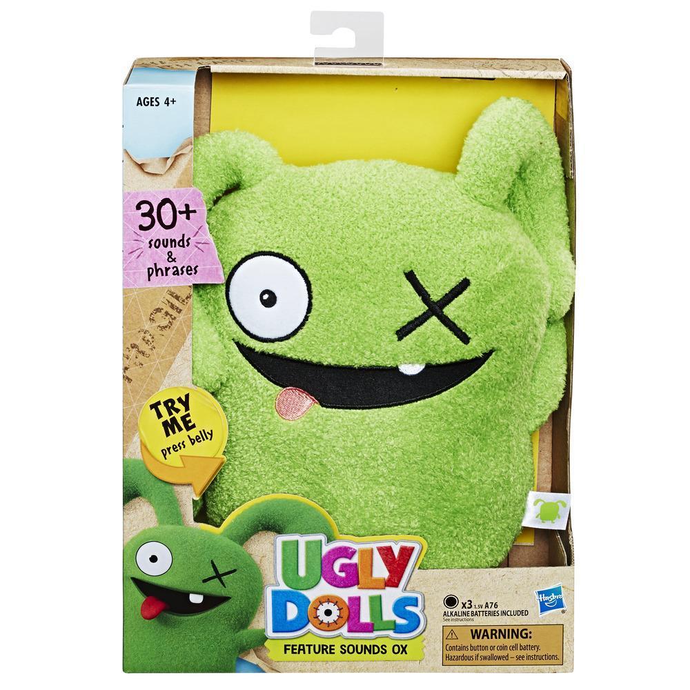 Мягкая музыкальная игрушка Окс UglyDolls Ox 29 см Куклы с Характером Hasbro E4678
