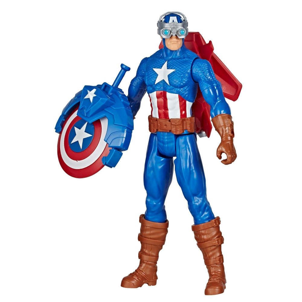 Фигурка Капитан Америка 30 см запускает Щит Captain America Hasbro E7374