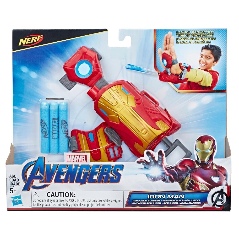 Бластер Nerf Перчатка Железного Человека Iron Man Nerf Hasbro E4394