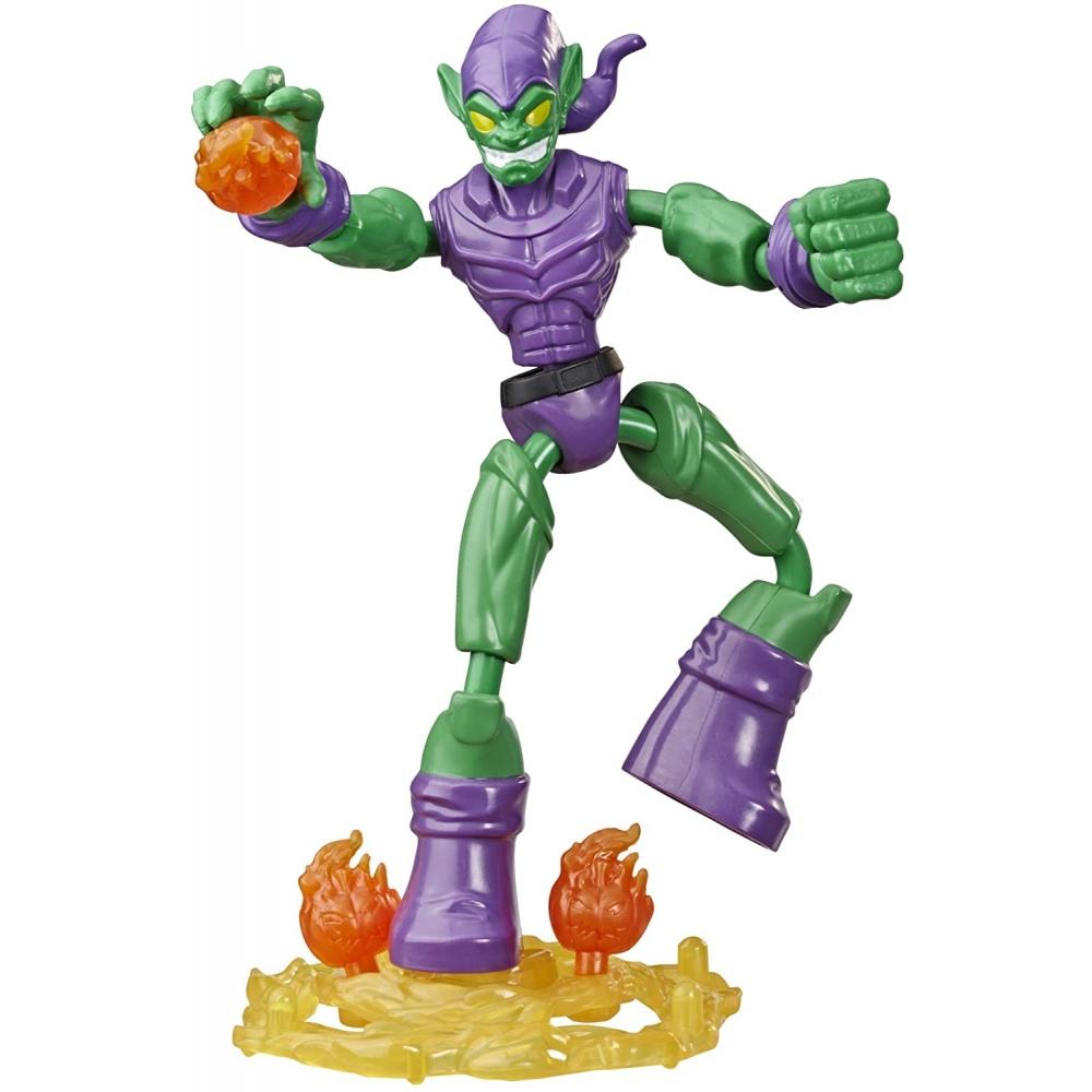 Фигурка Зеленый Гоблин гнущаяся Человек Паук Bend and Flex Green Goblin Hasbro E8973