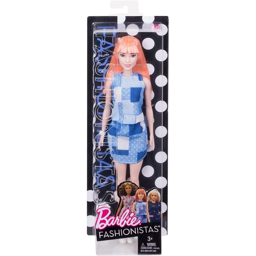 Кукла Барби Рыжая Модница 29 см Barbie 60 Fashionistas Mattel DYY90
