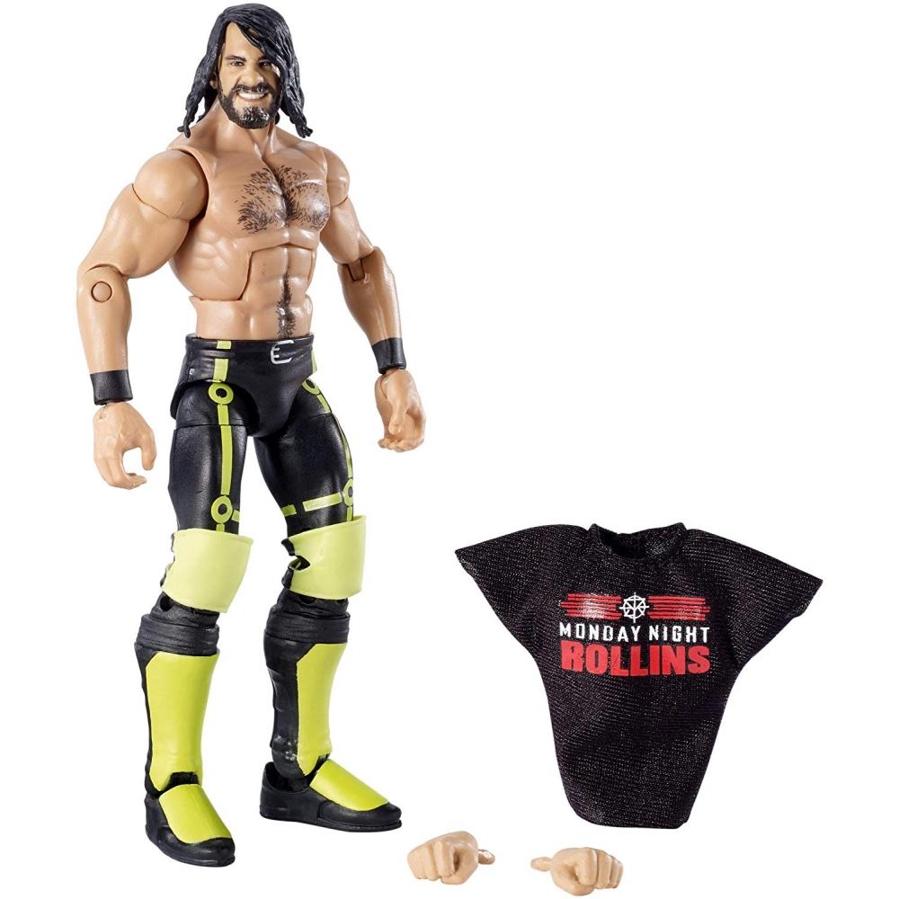 Фигурка Сет Роллинс Элитная Коллекция WWE Elite Collection Seth Rollins Wrestling Action Figure Mattel V8AAOS