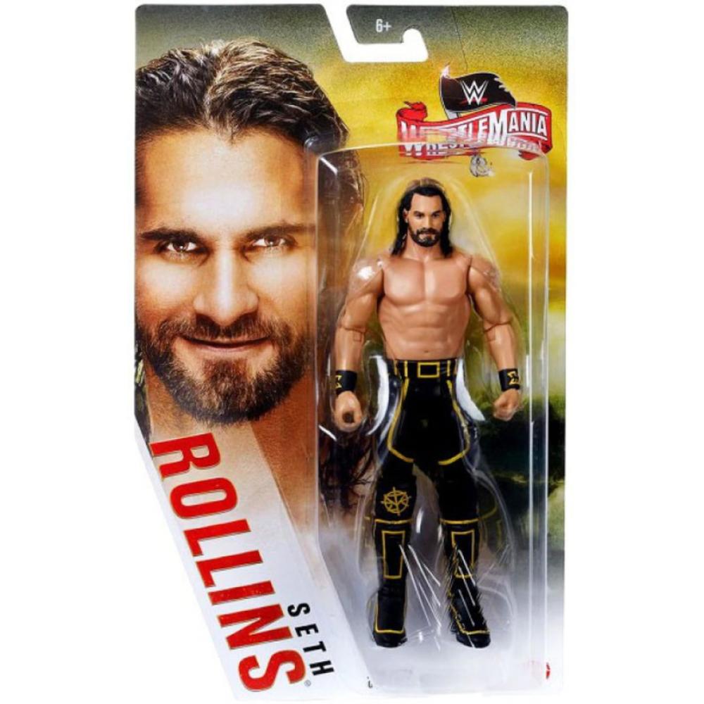 Фигурка Рестлер Сет Роллинс 36 WWE  Wrestle Mania 36 Seth Rollins Mattel GKY56