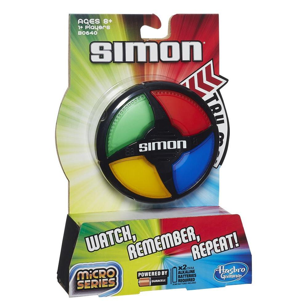 Интерактивная обучающая Игра Саймон Микро Simon Micro Hasbro B0640