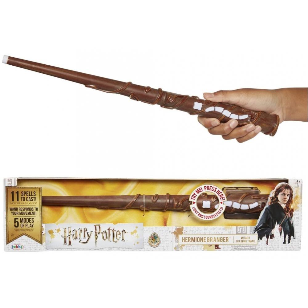 Волшебная палочка Гермионы Интерактивная Hermione's Wand Interactive Wizard Training Wand Jakks 73210