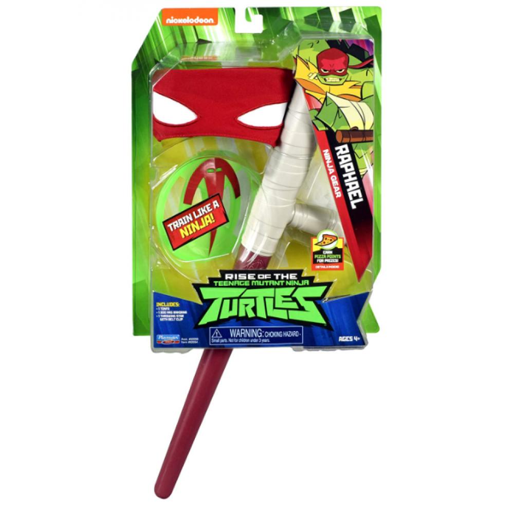 Набор Рафаэля Черепашки Ниндзя Teenage Mutant Ninja Turtles Raphael's Tonfa Playmates Toys 82054