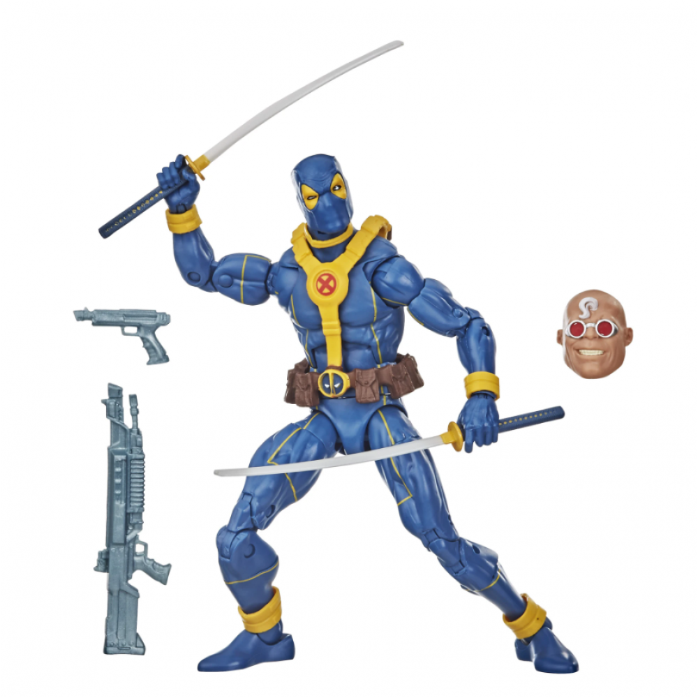 Фигурка Дэдпул в синем костюме Marvel Legends Series Deadpool Baf Strong Guy Hasbro E9309