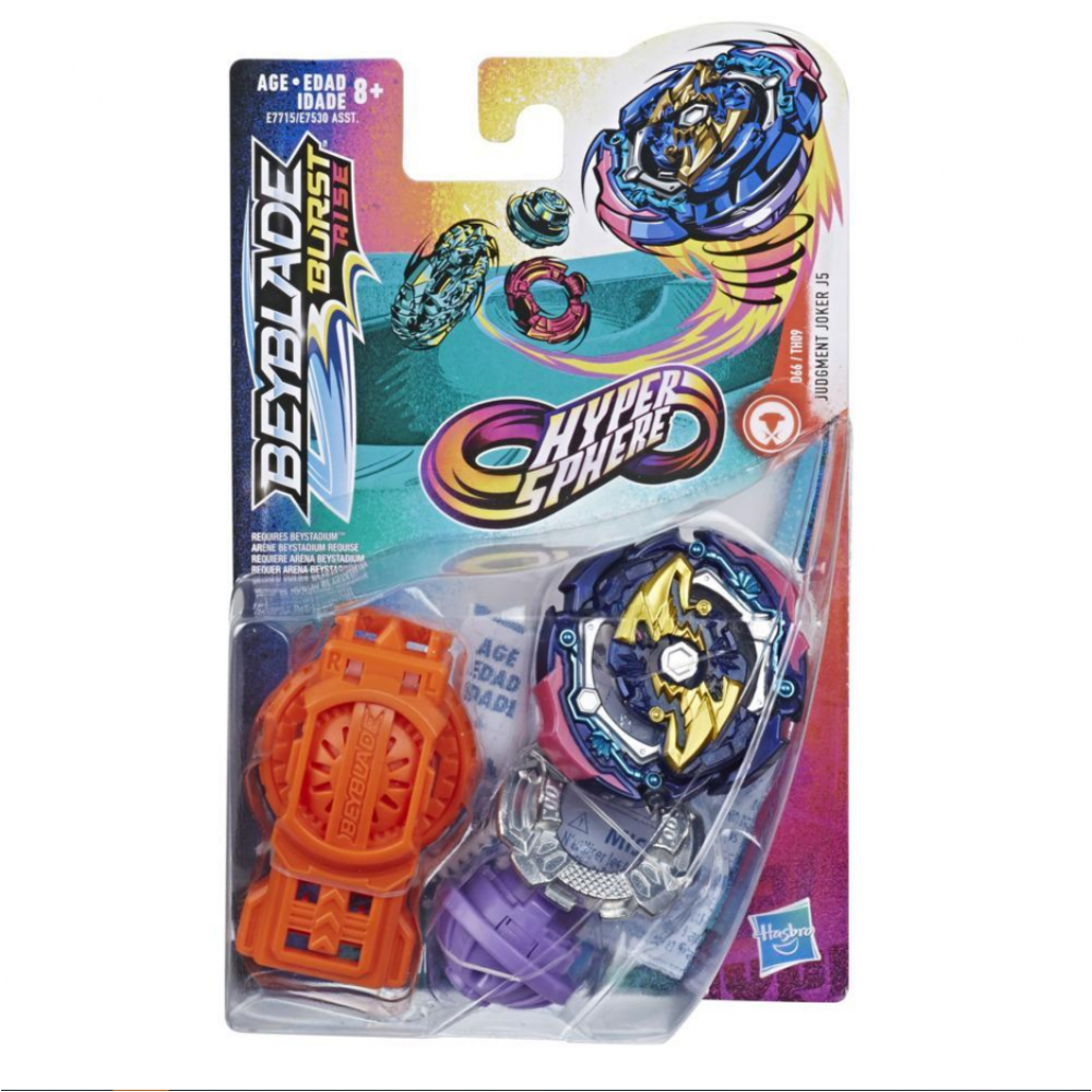 Бейблейд Кара Джокер J5 Beyblade Burst  Judgement Joker J5 Hasbro E7715