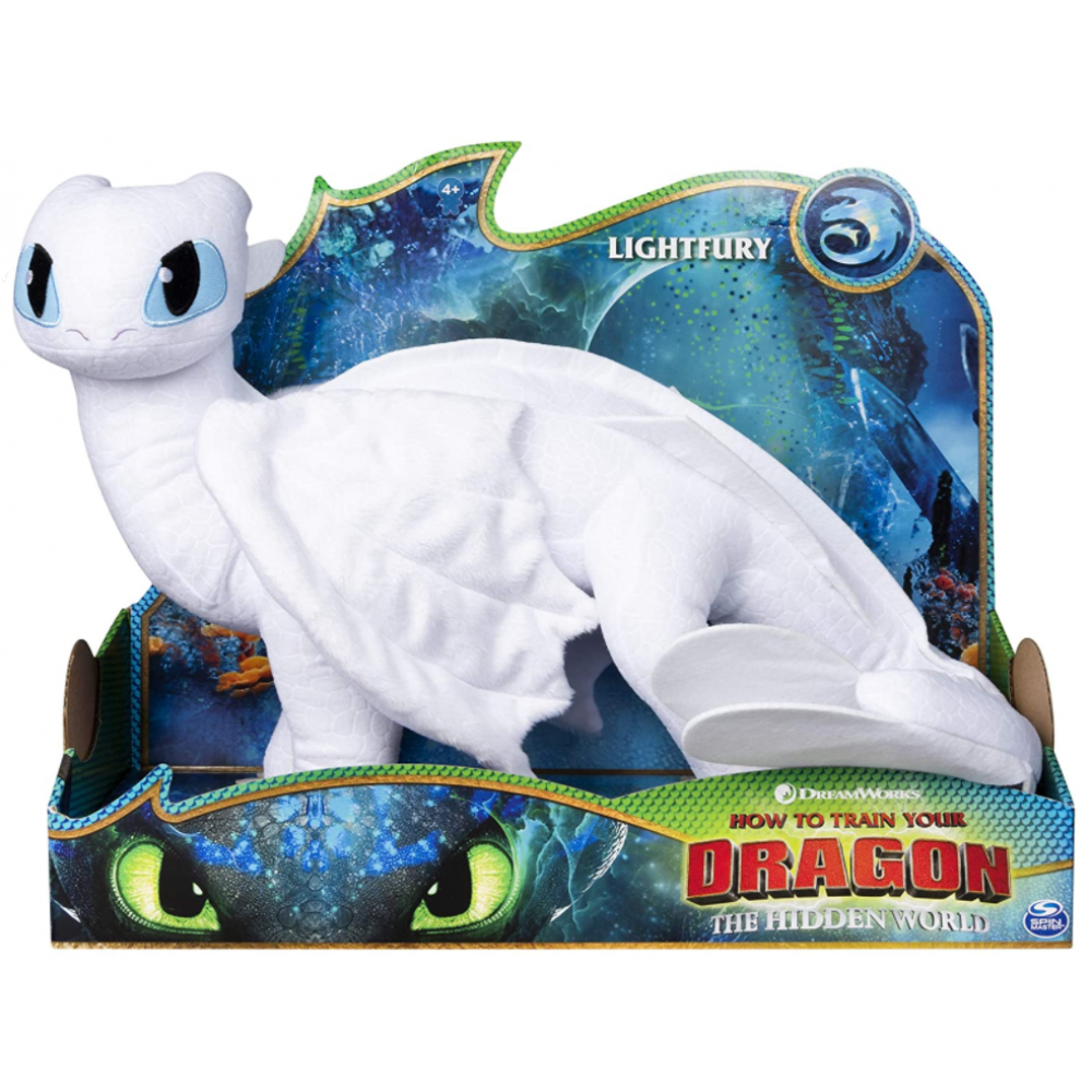 Мягкая игрушка Дневная Фурия 36 см Dragones DreamWorks Furia Spin Master 6052953