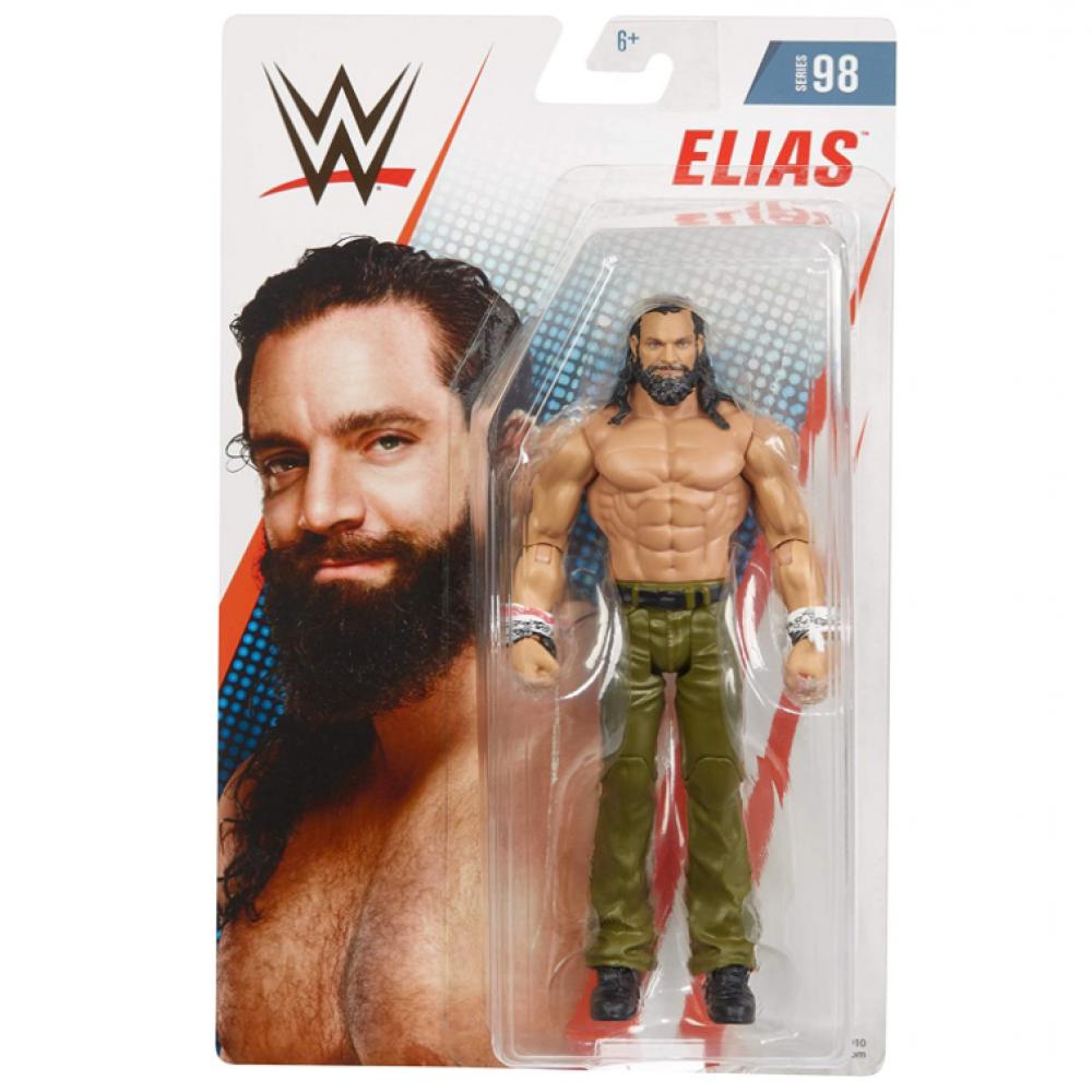 Фигурка Рестлер Элиас WWE Elias 98 Mattel GCB70