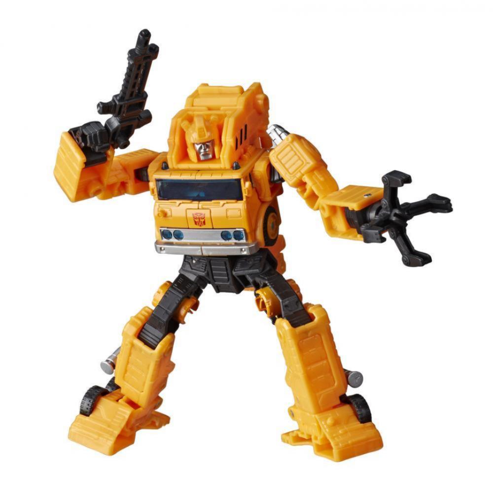 Трансформер Граппл Подъемный Кран Война за Кибертрон WFC-E10 Transformers Grapple Hasbro E7164