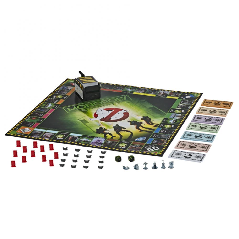 "Монополия: ""Охотники за привидениями"" Monopoly Game: Ghostbusters Edition Hasbro E9479"