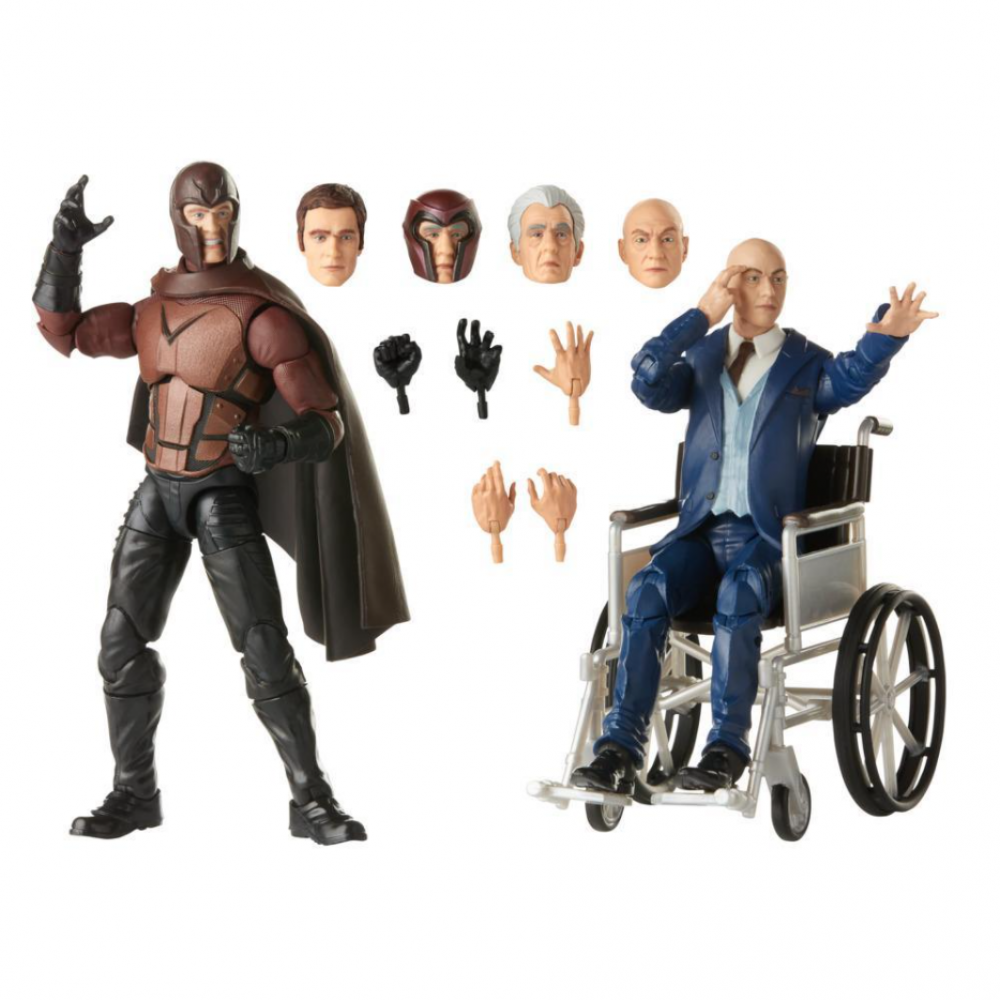 Фигурки Люди Икс Магнето и Чарльз Ксавье Legends Series X-Men Magneto and Professor X Hasbro E9290