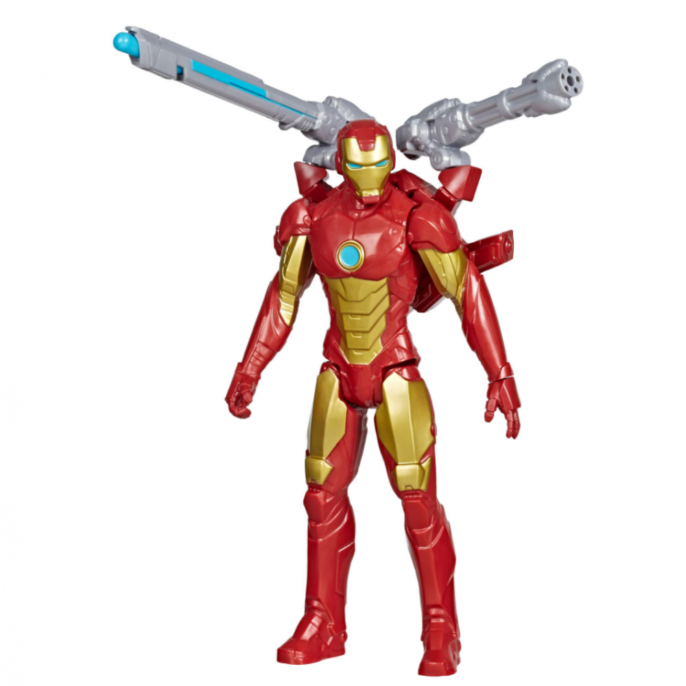 Фигурка Железный Человек 30 см стреляет снарядами Iron Man Hasbro E7380