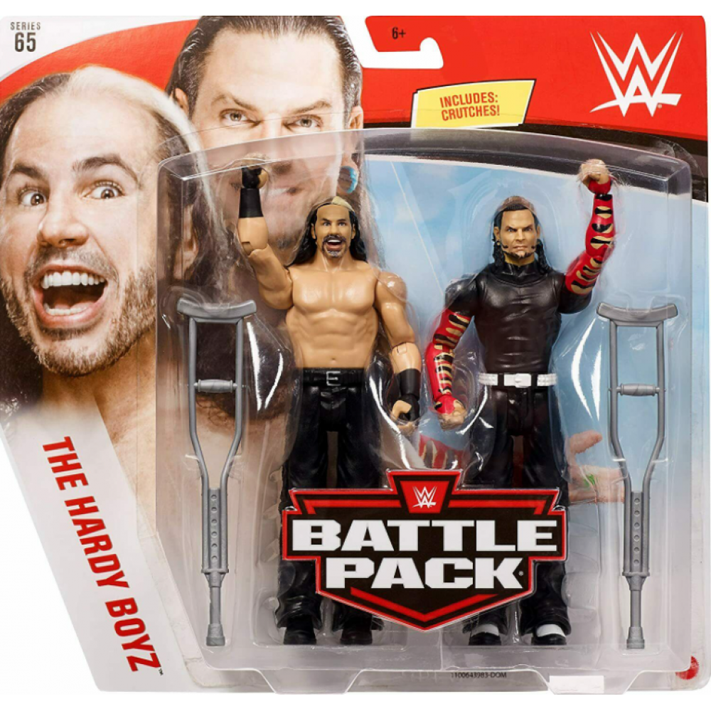 Фигурки Рестлеры WWE Серия 65 WWE Battle Pack Series 65 The Hardy Boyz Mattel GLB30