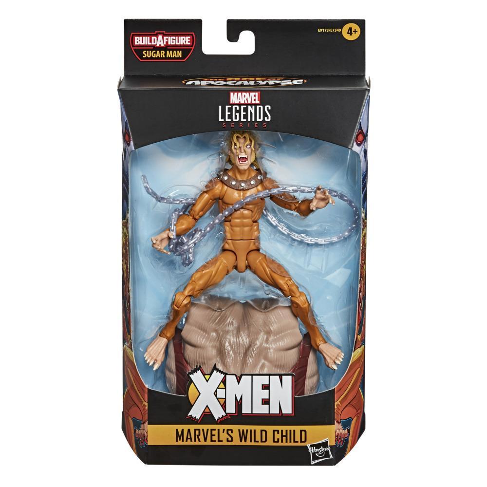 Фигурка Дикий Ребенок Люди Икс Эпоха Апокалипсиса Wild Child X-Men Baf Sugar Man Hasbro E9173