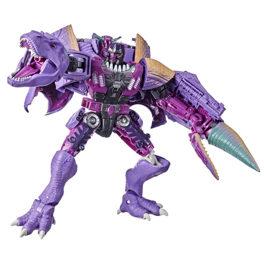 Трансформер Динозавр Мегатрон Лидер Королевства WFC-K10 Transformers Kingdom Leader Megatron Beast Hasbro F0698