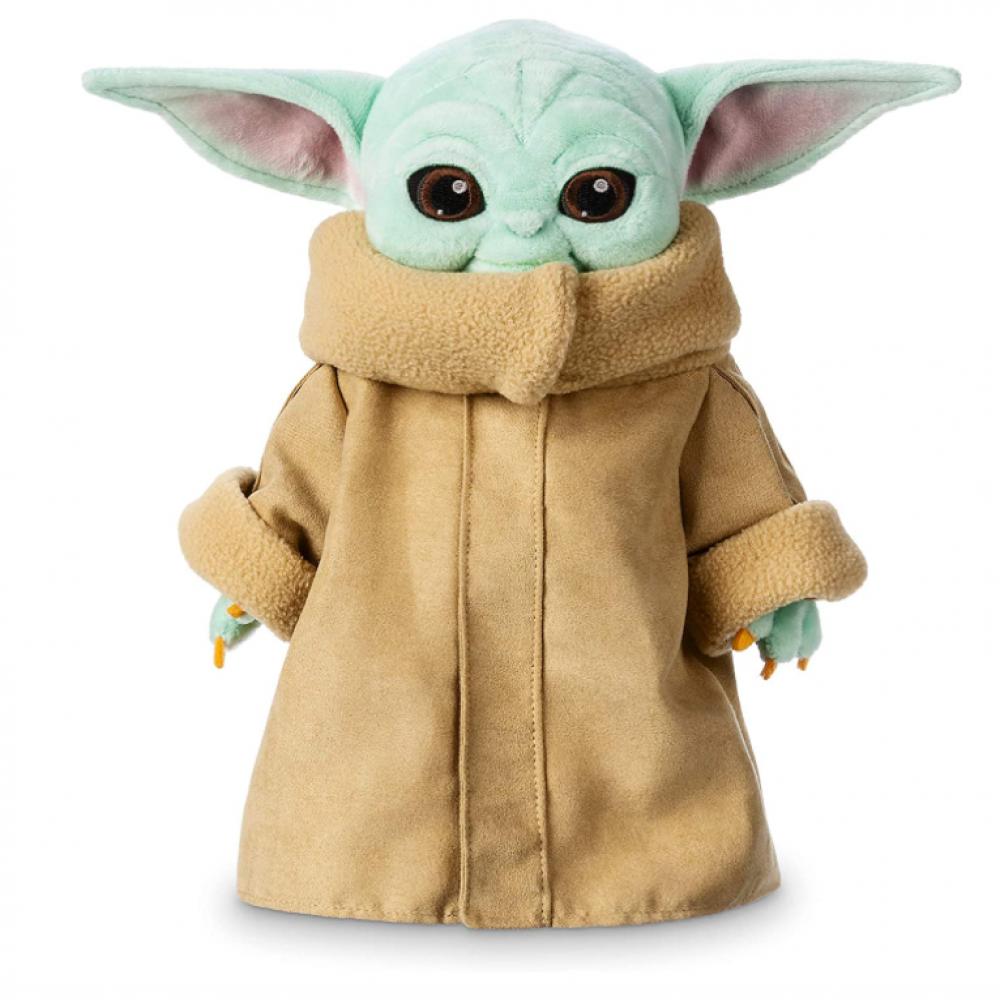 Плюшевая Игрушка Малыш Йода 27 см Мандалорец Star Wars The Child Plush The Mandalorian Disney B08DQ