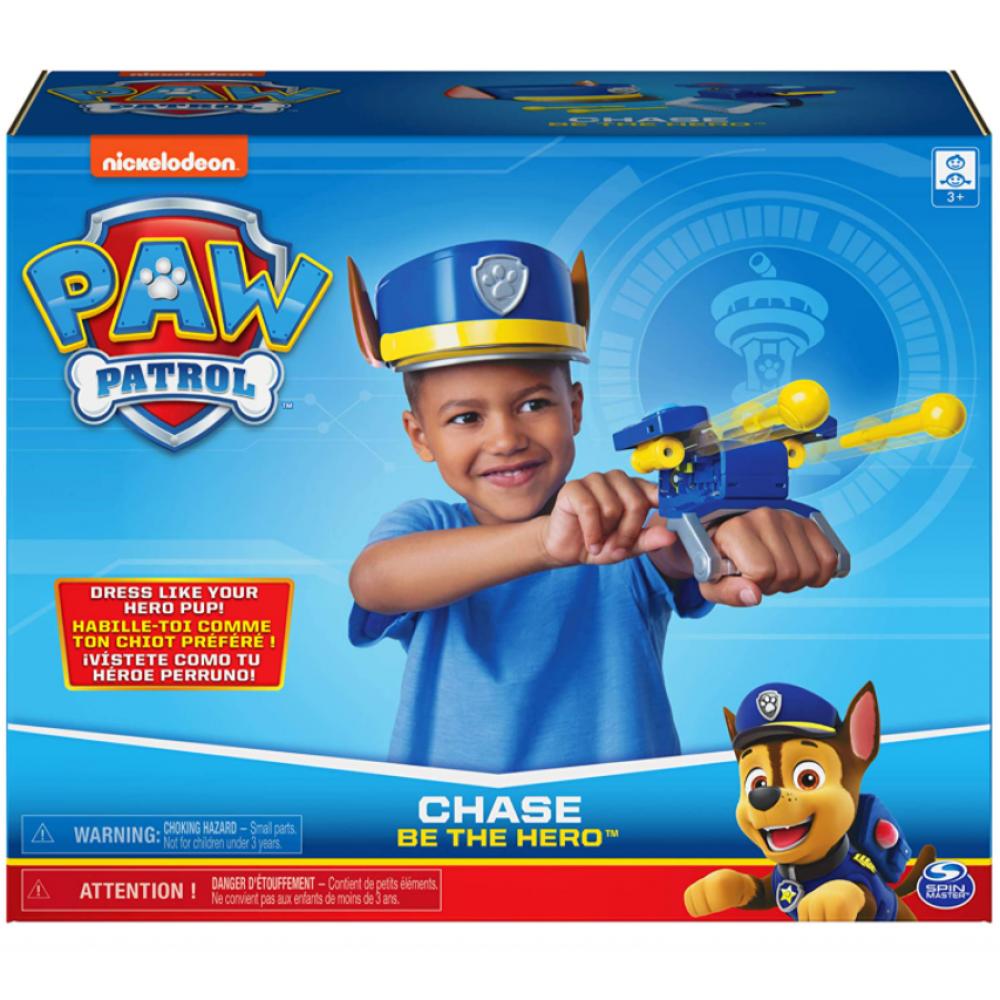 Набор Чейз каска и бластер Щенячий Патруль Paw Patrol Set with Hat and Wrist Launcher Spin Master 6060056