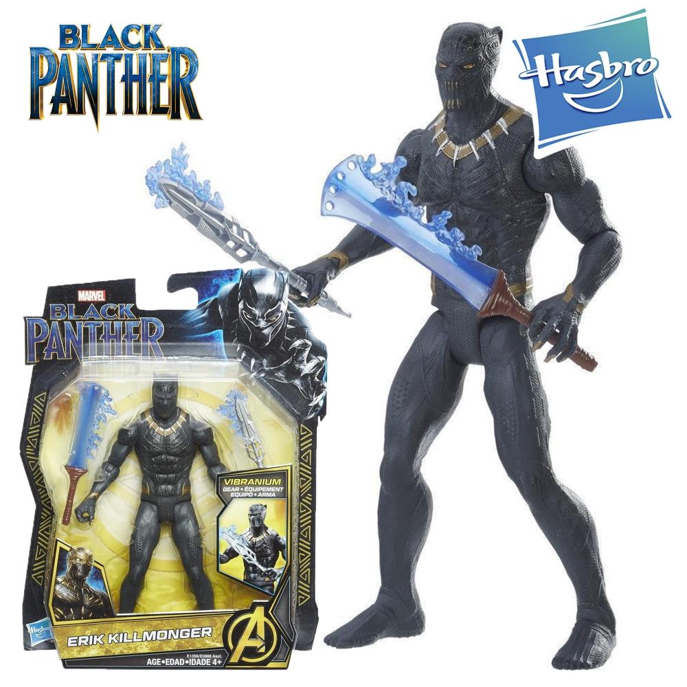 Герой Marvel Black Panther Эрик Килмонгер Черная Пантера Hasbro E1356