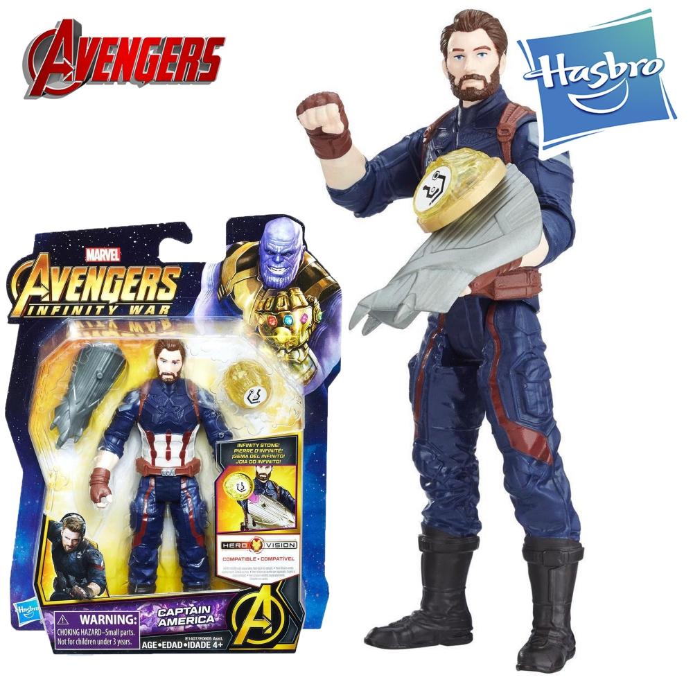 Капитан Америка и камень бесконечности Герой Marvel Hasbro Captain America E1407