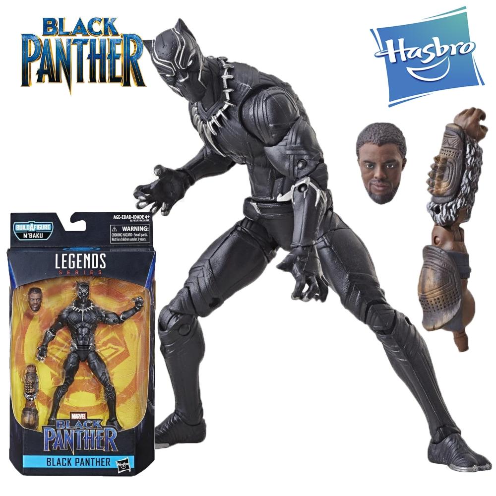 Фигурка Черная Пантера Legends серия Mbaku Black Panther Hasbro E5787