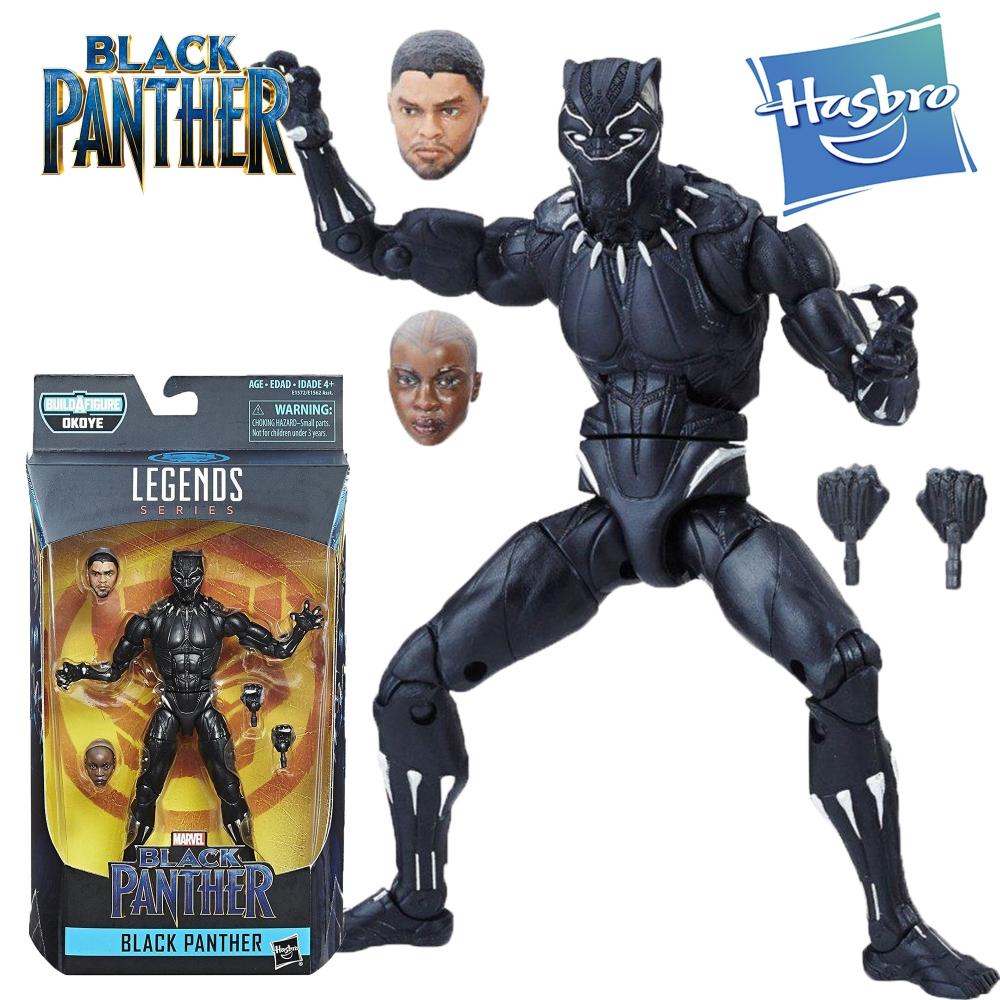 Фигурка Черная Пантера Legends серия Black Panther Hasbro E1572