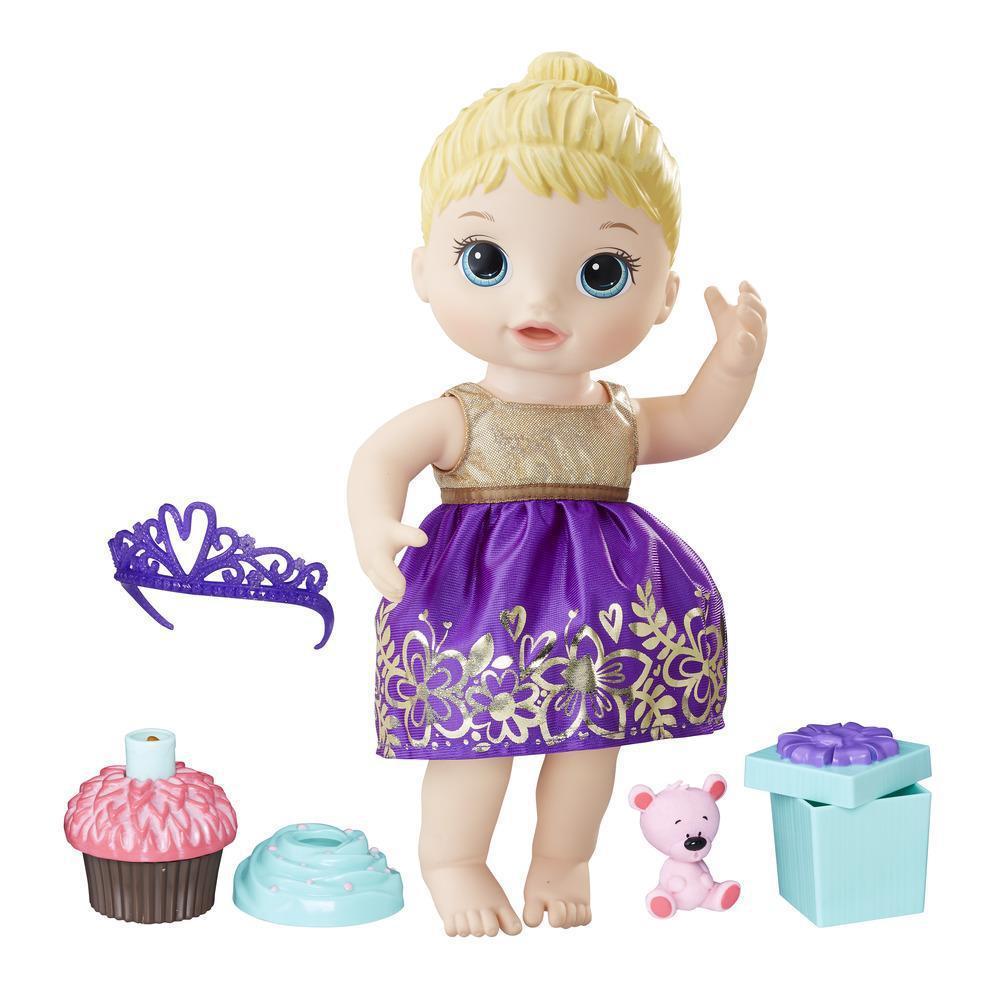 Baby Alive Cupcake Birthday США Беби Элив